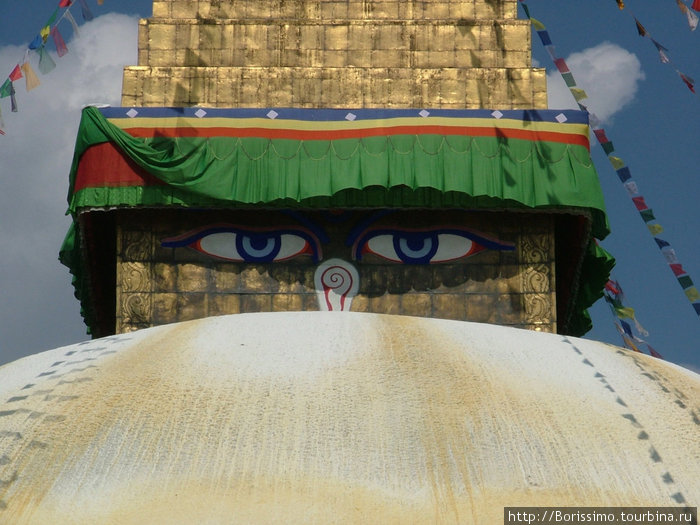Всевидящий взор Будды.