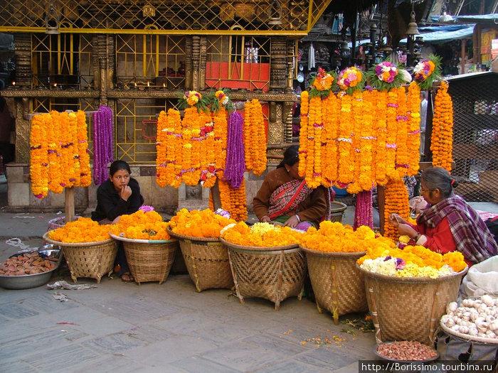 Цветочный рынок.