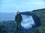 На краю, действительно на северном краю земли. Карское море.