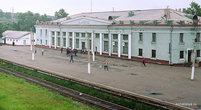 Железнодорожный вокзал в Ванине