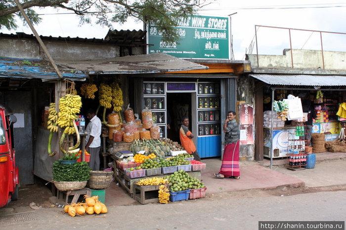 Рынок в Хапутале