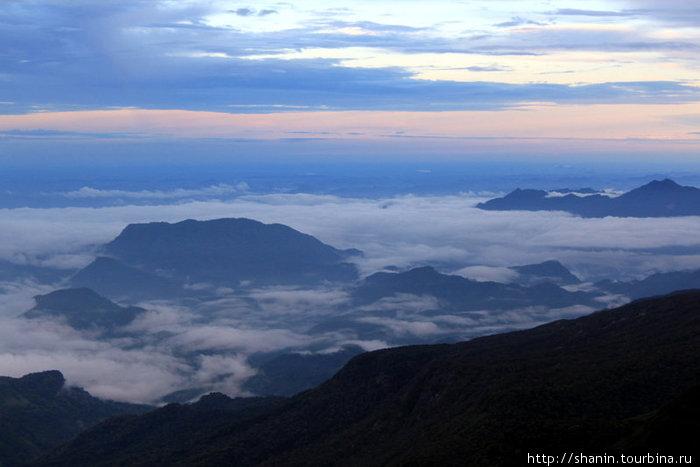 Вид с вершины Пика Адама