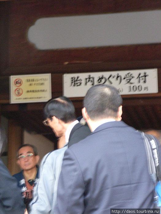 Спуск в глубину зародыша  (к камню-реликвии), 100 иен