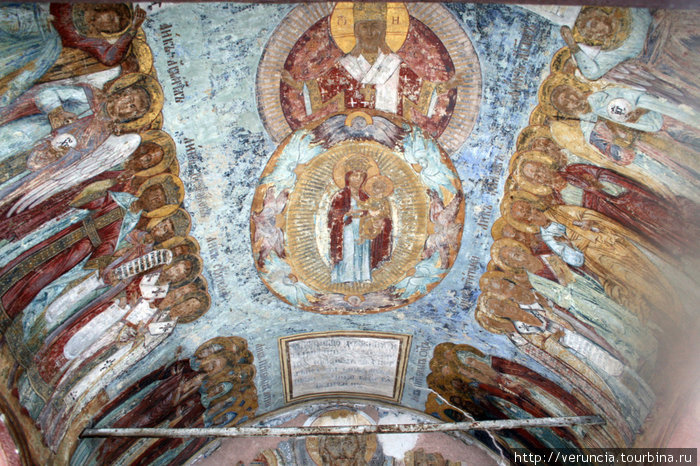 Старинные фрески.