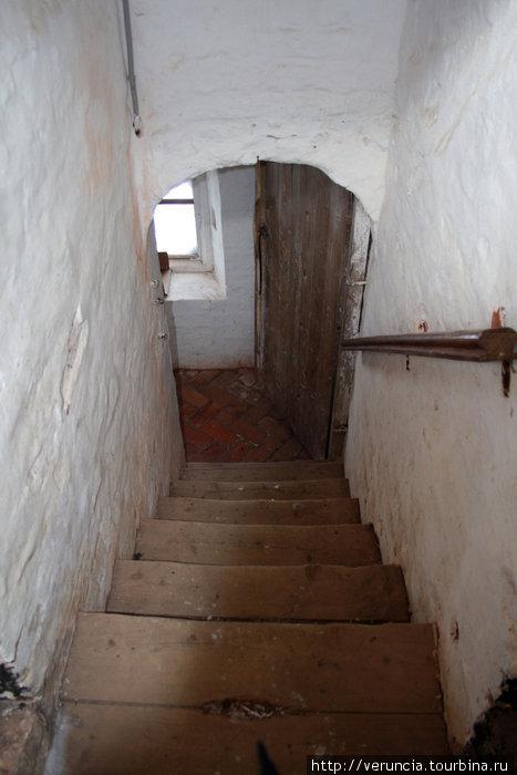 Лестница на звонницу.