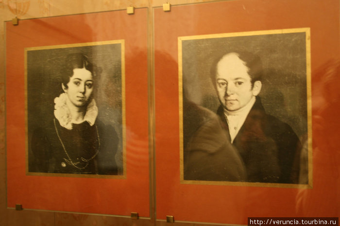 Фотографии родителей Николая Андреевича.