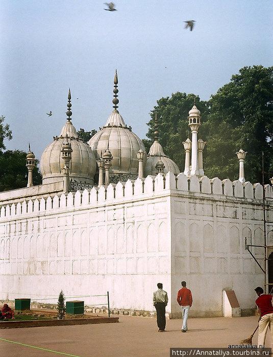 Красный форт. Жемчужная мечеть