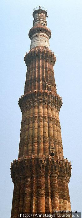 Кутб-Минар. 72-метровая башня