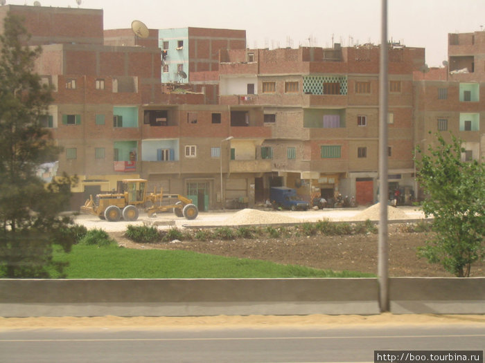 жилые кварталы Гизы