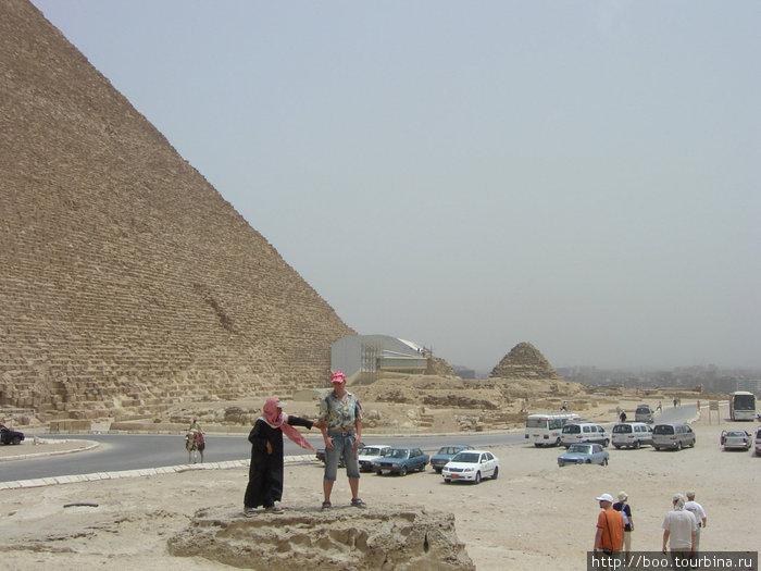 пирамиды воистину величественны