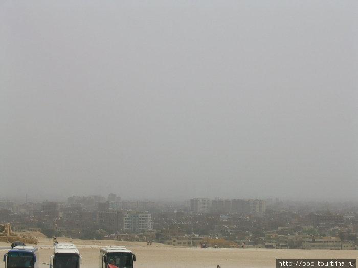 Каир утопает в смоге