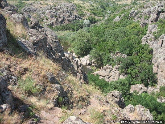 Актовский каньон.