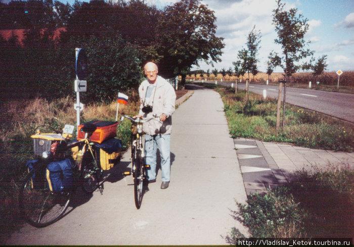 Знакомый с польского велотурслёта