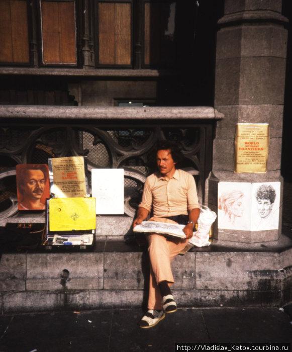 Во время путешествия в каждой стране рисовал местных жителей. Теперь портреты моей работы есть в более чем 90 странах мира