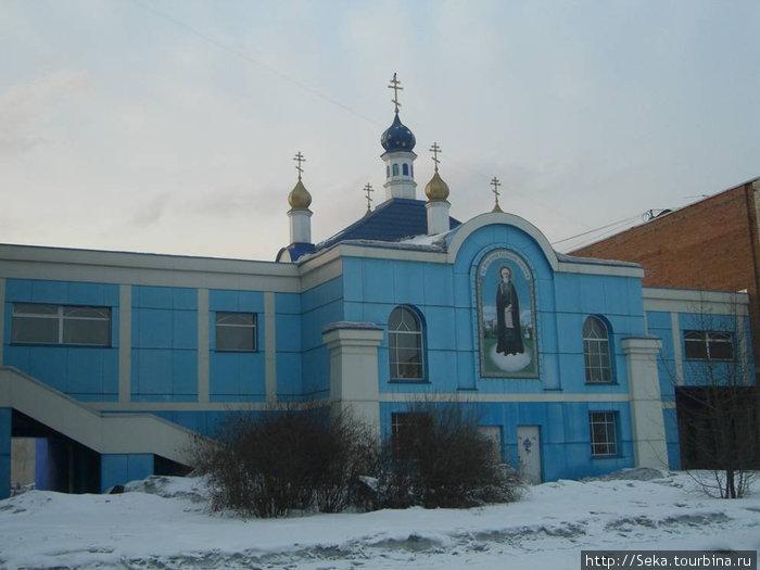 Храм преподобного Сергия Радонежского