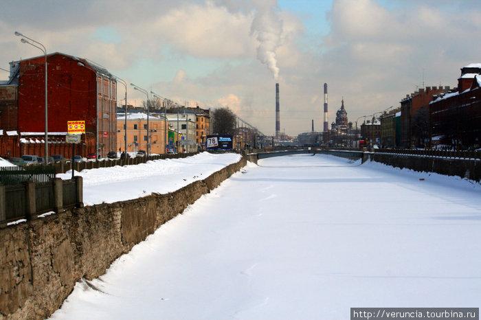 Обводный канал.