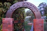 Вход на городское кладбище рядом с могилой Бона Скотта (вокалист рок группы ACDC)