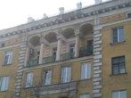 Колонны и балкончики
