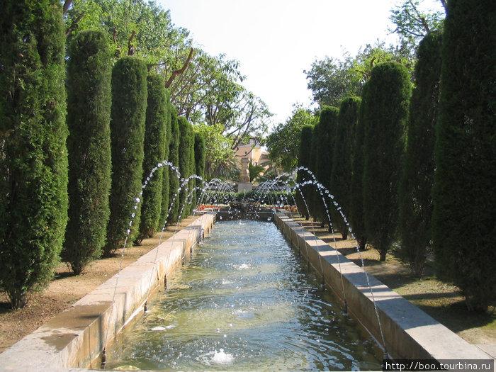 в саду С'Орт дель Рэй