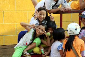 Веселые дети Тяудока