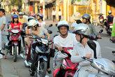 Мотоциклисты в Тяудоке