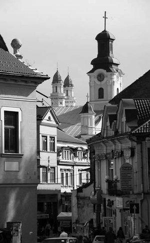 Вид на старый город