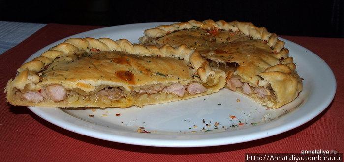 Национальное блюдо — кыбын