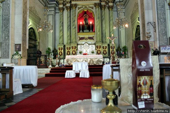 В соборе Святого Августина