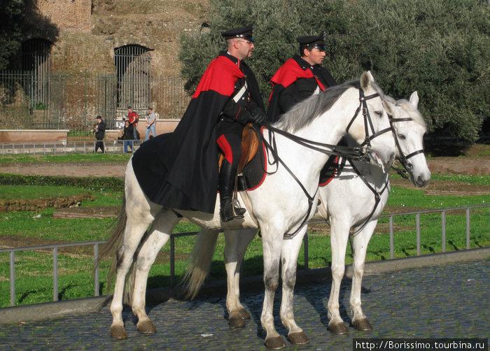 Итальянская конная полиция