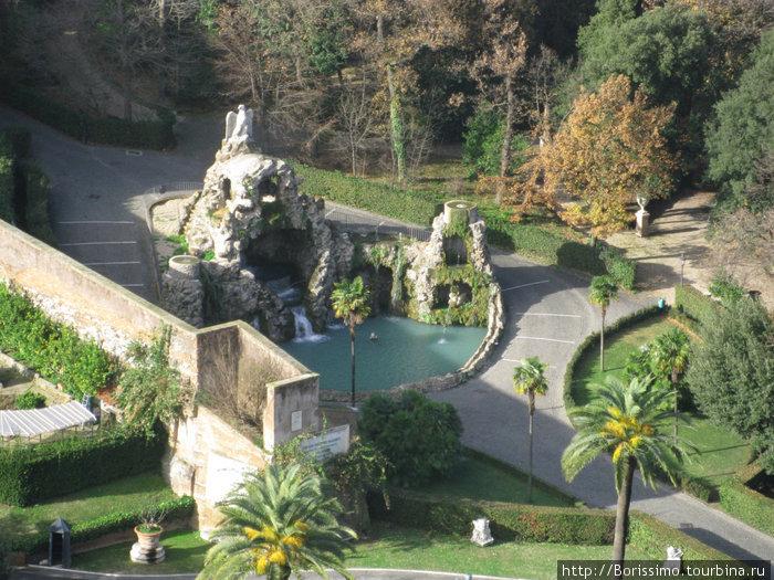 Парк в Ватикане