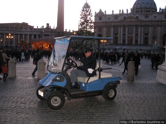 Этот полицейский довольствуется малым авто