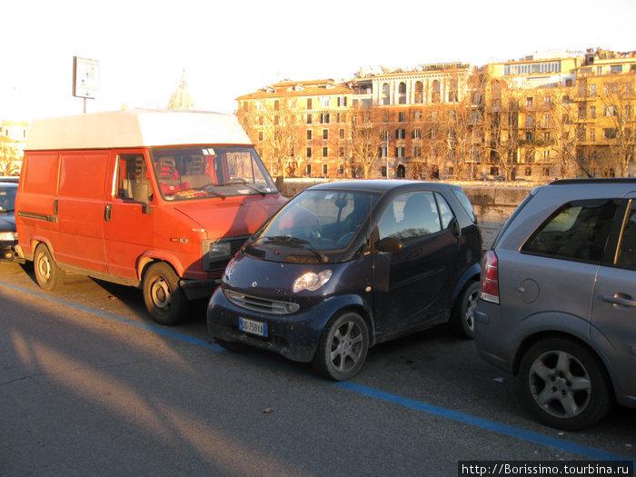 Парковка по-итальянски :-)