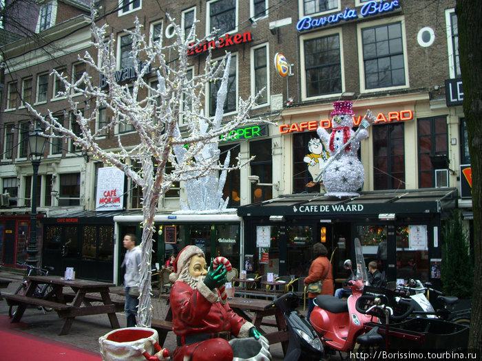 Рождественское убранство города