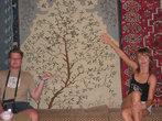ковры на ощупь очень мягкие, приятные, особенно если шёлковые