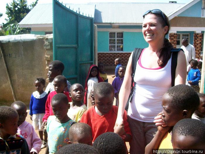 Эрика и дети