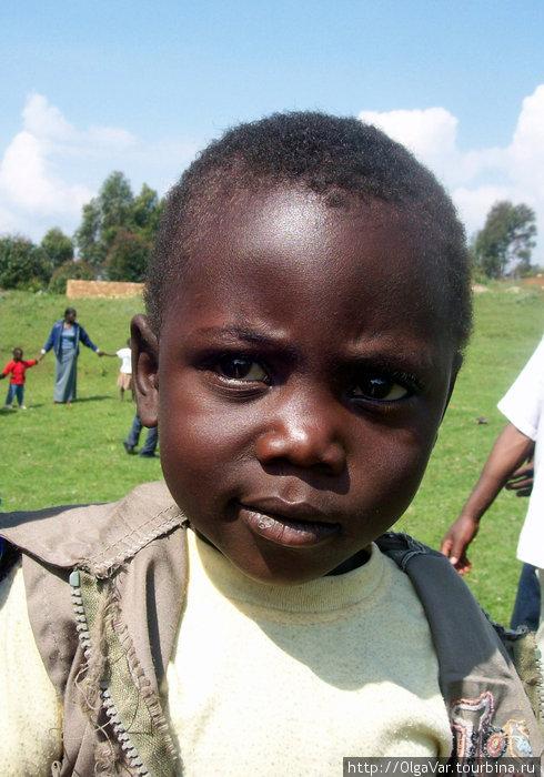 Портреты детей из приюта