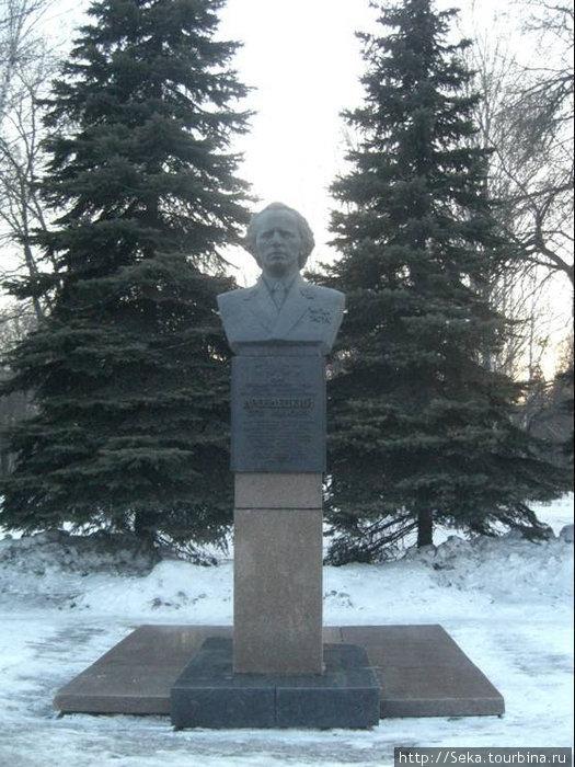 Бюст Е.И. Дроздецкого