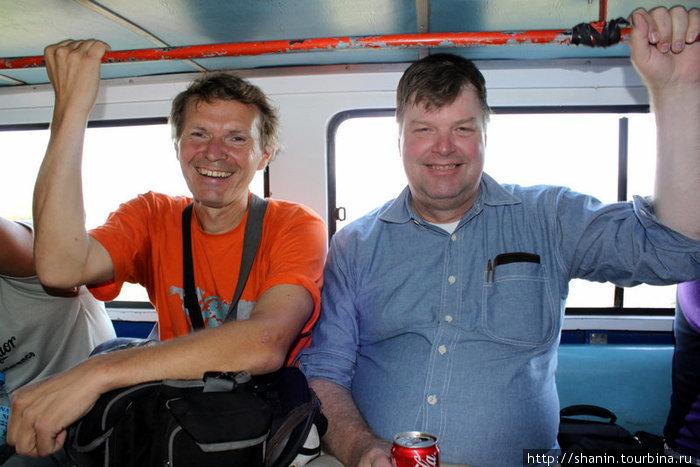 С американцем Крисом в джипни