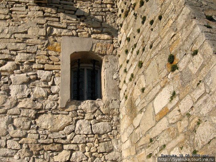 ...зато он настоящий! Стоит на высоком холме, зарешеченными окнами смотрит в даль, толстые стены скрывают его таинственное подземелье, и в нем, как и у всех сказочных дворцах, живут привидения.