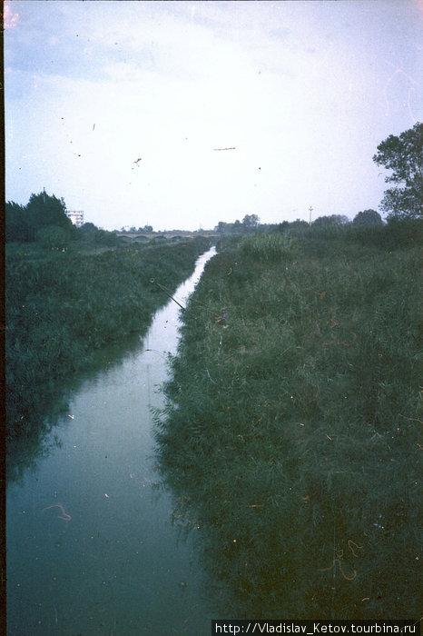 Река, которую прославил Цезарь. Рубикон!