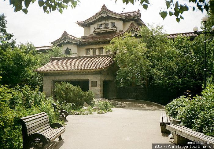 Бывший дом японского губернатора. Теперь музей