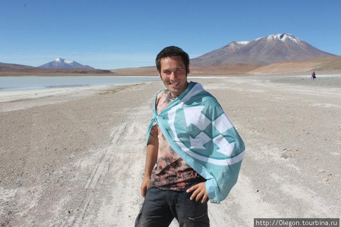По Боливии с флагом Турбины