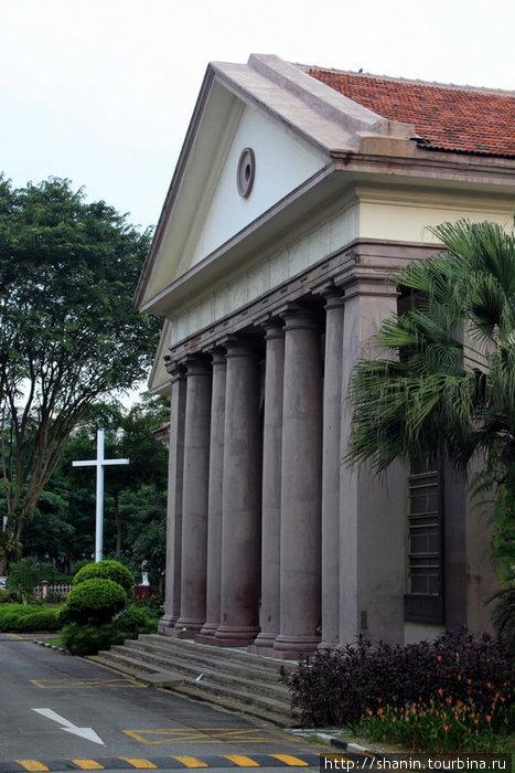 Церковь Доброго Пастыря закрыта на ремонт