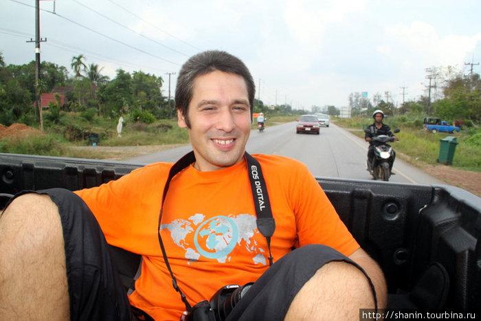 Едем автостопом в сторону Камбоджи