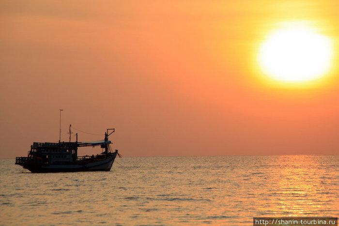 Закат на острове Ко-Чанг