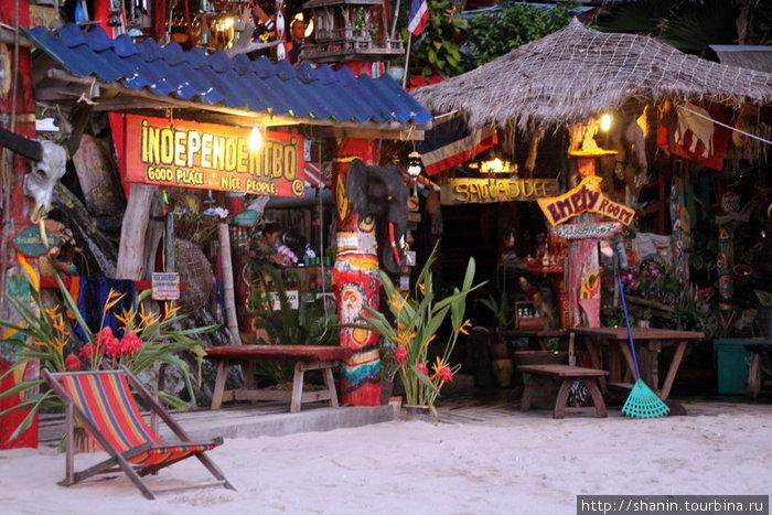 Гостиница для бэкпакеров на пляже