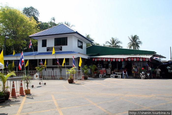 Погран переход на тайско-камбоджийской границе
