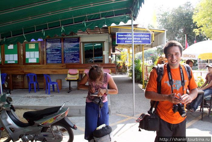 Камбоджийские визы получили прямо на границе