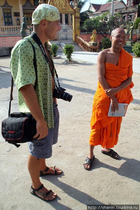 Знакомство с монахом в монастыре