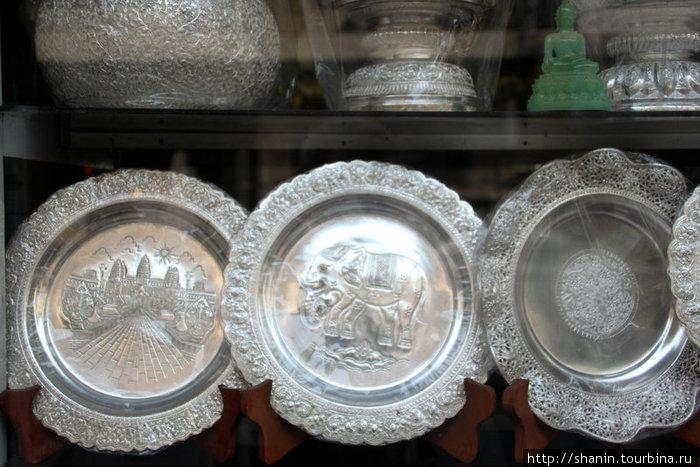 Серебряные тарелки на продажу